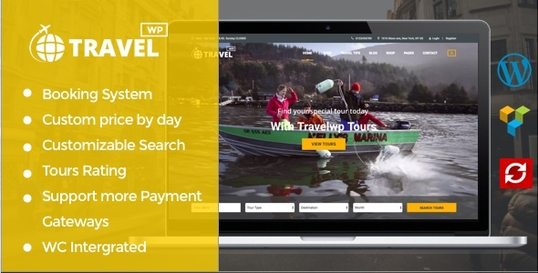 Travel WP: Best WordPress Theme for Travel and Tour Booking Website