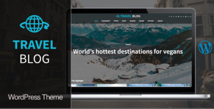 Travel Blog: The Best WordPress Theme For Blog, News And Magazine Website