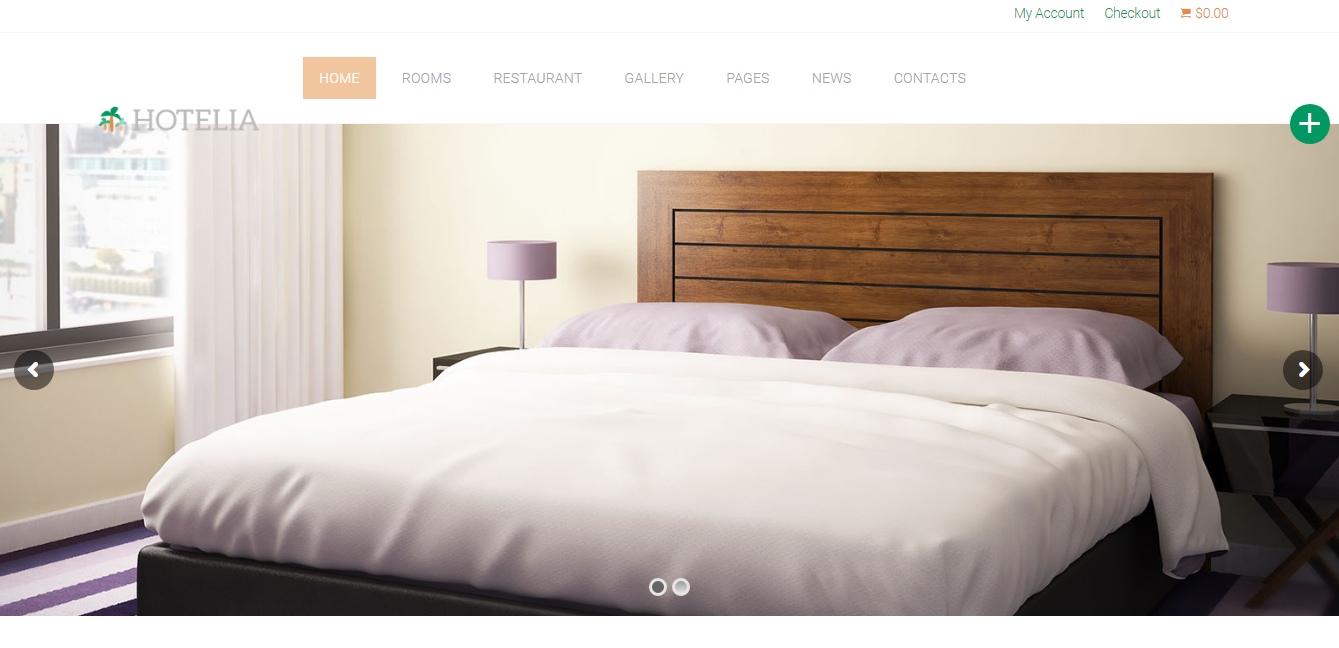 50 Best Hotel WordPress Themes 2018