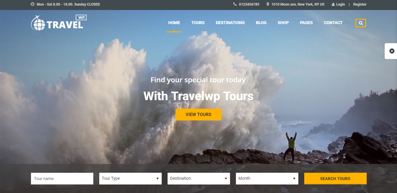 30+ best travel WordPress themes 2018