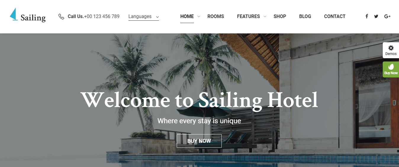 sailing theme for hotel rooms