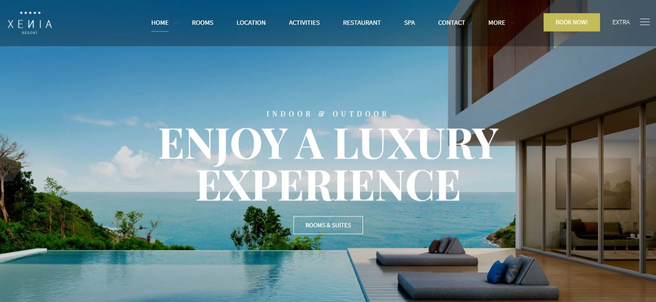 xenia theme for hotel rooms
